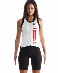 Assos Cykeltrøje NS.SuperLeggera Jersey u. ærmer (damer) - flot cykeltrøje i høj kvalitet